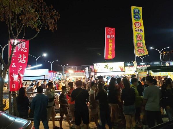 New night market in Taiwan's Taichung shut down