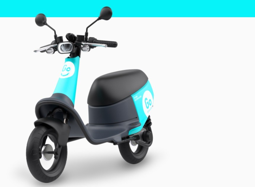 Gogoro GoShare electric scooter (GoShare website photo)
