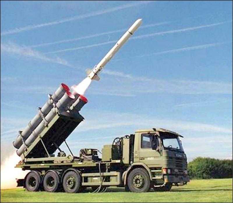 美國波音公司製造的魚叉飛彈海岸防衛系統(照片來源:翻攝自Boeing Defense 推特)