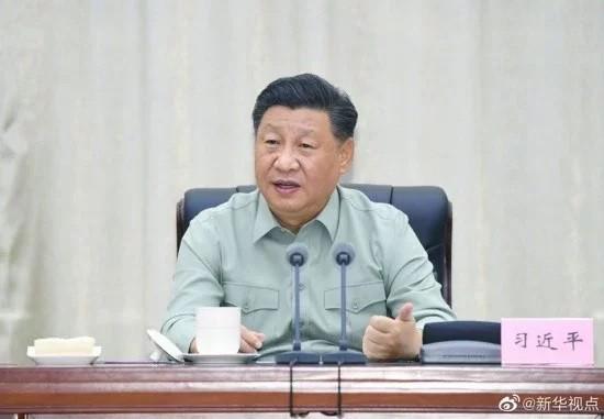 Xi Jinping. (Weibo image)