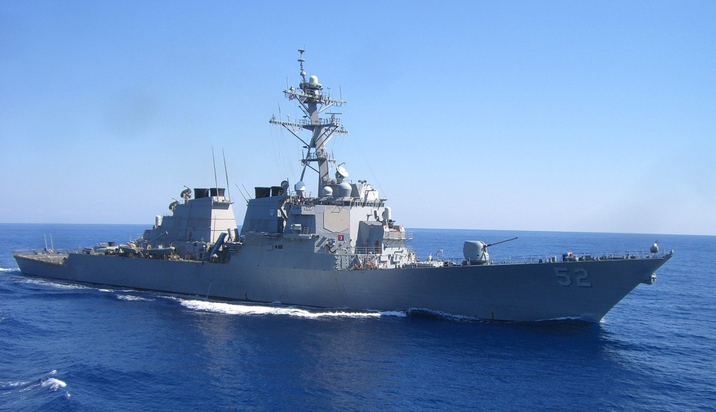 USS Barry. (Facebook, USS Barry - DDG 52 photo)