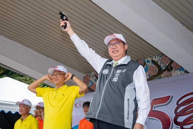 Taoyuan Mayor Cheng Wen-tsang (Facebook, Cheng Wen-tsang photo)