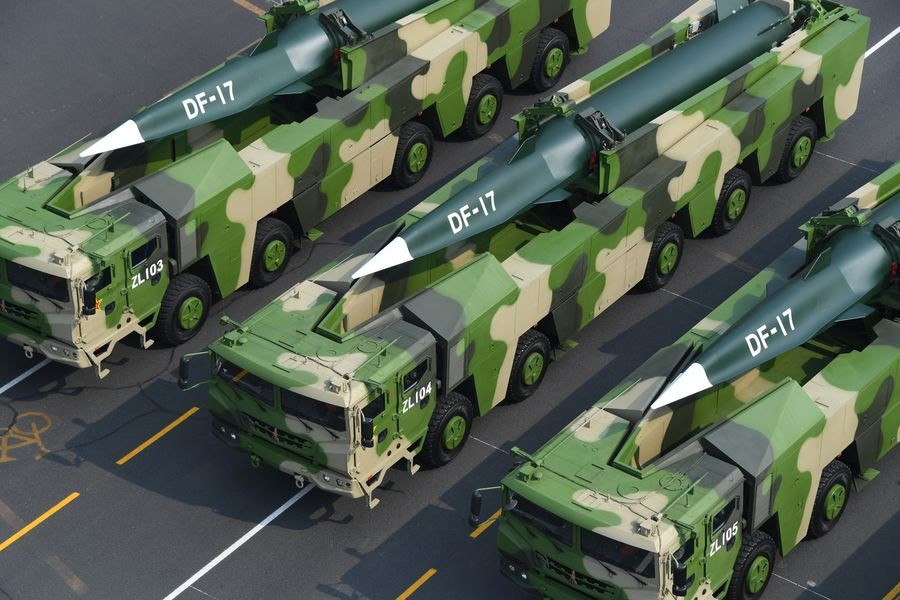DF-17 on parade in Beijing. (PLA photo)