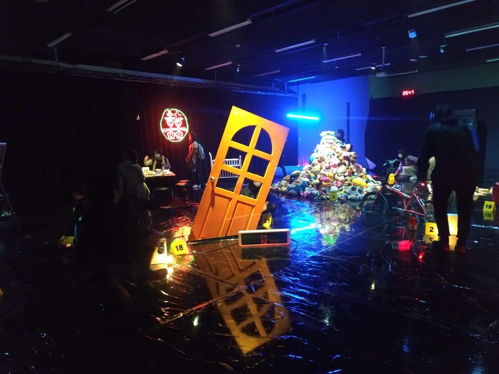 沈浸式劇場《蝕物鏈》十分熱門,票已全數索完(圖/台灣英文新聞)