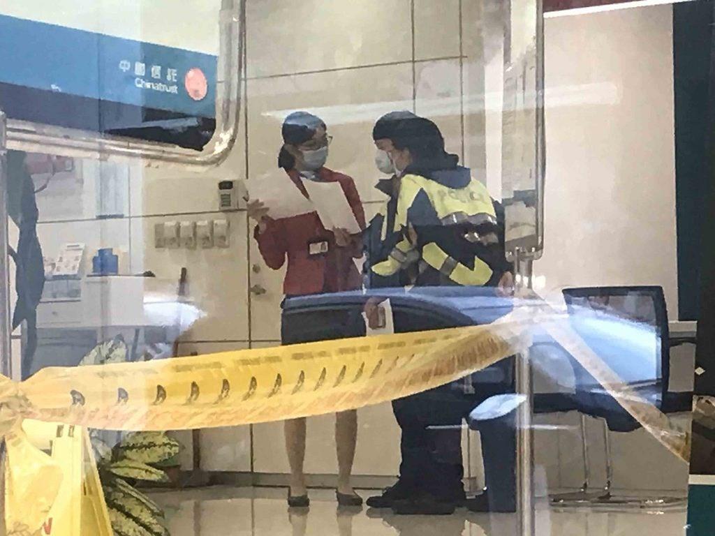 Scene of the crime. (Taipei Police Department photo)