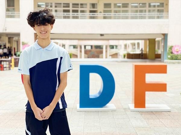 新北市新莊區丹鳳高中學生蕭子秦 (丹鳳高中圖片)