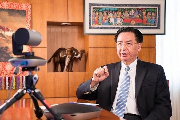 Taiwanese Foreign Minister Joseph Wu. (MOFA photo)