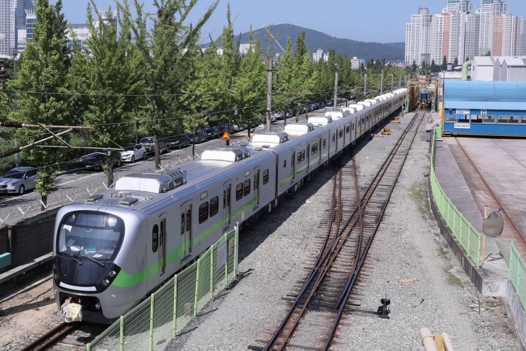 Taiwan's new trains builtby Hyundai Rotem