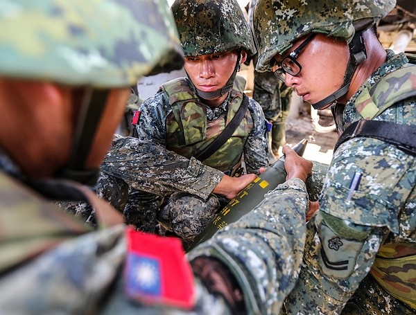 Taiwan has approximately 450,000 soldiers that can respond to a major war. (MND photo)