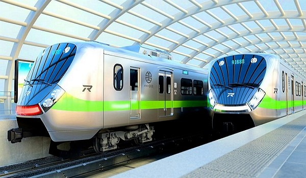 Two EMU900 commuter trains are slated to operate in January. (TRA photo)