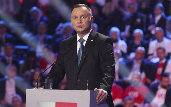 Polish PresidentAndrzej Duda tested positive for coronavirus Friday.