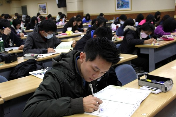 Over half of Taiwanese believe cram schools necessary for academic success.