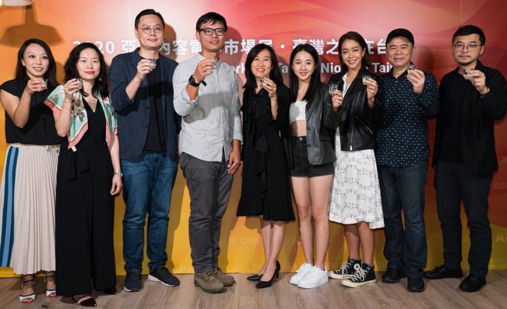 釜山國際影展獲獎團隊在「台灣之夜在台北」分享心得(圖/文策院)