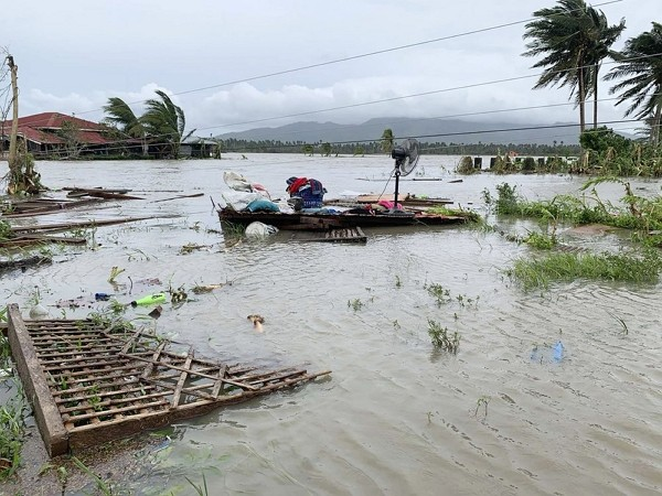 A fast-moving typhoon forced thousands of villagers to flee to safety in provinces south of the Philippine capital Monday, flooding rural villages and...