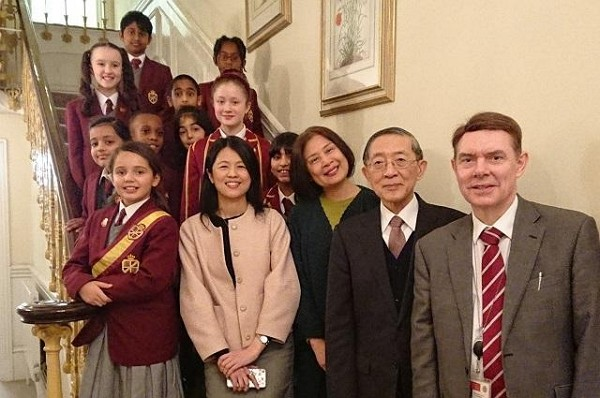 MOFA to offer Mandarin scholarships for UK students. (Taiwan Presidential Office photo)
