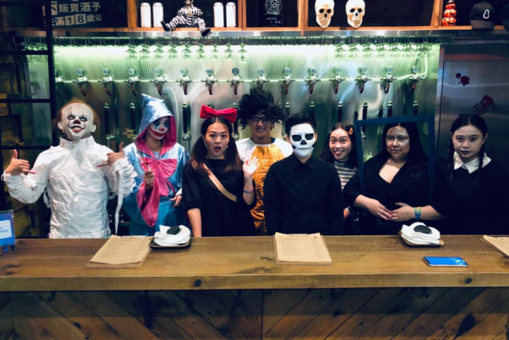 Taiwan's top 10 Halloween events!