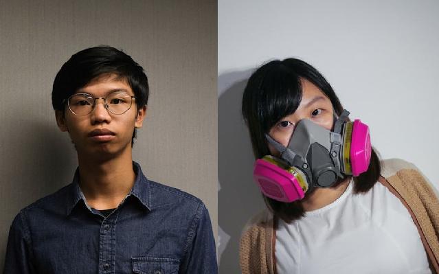 Tony Chung (left), Yanni Ho (Tawan News, Michael Ho, Daily Record photos)