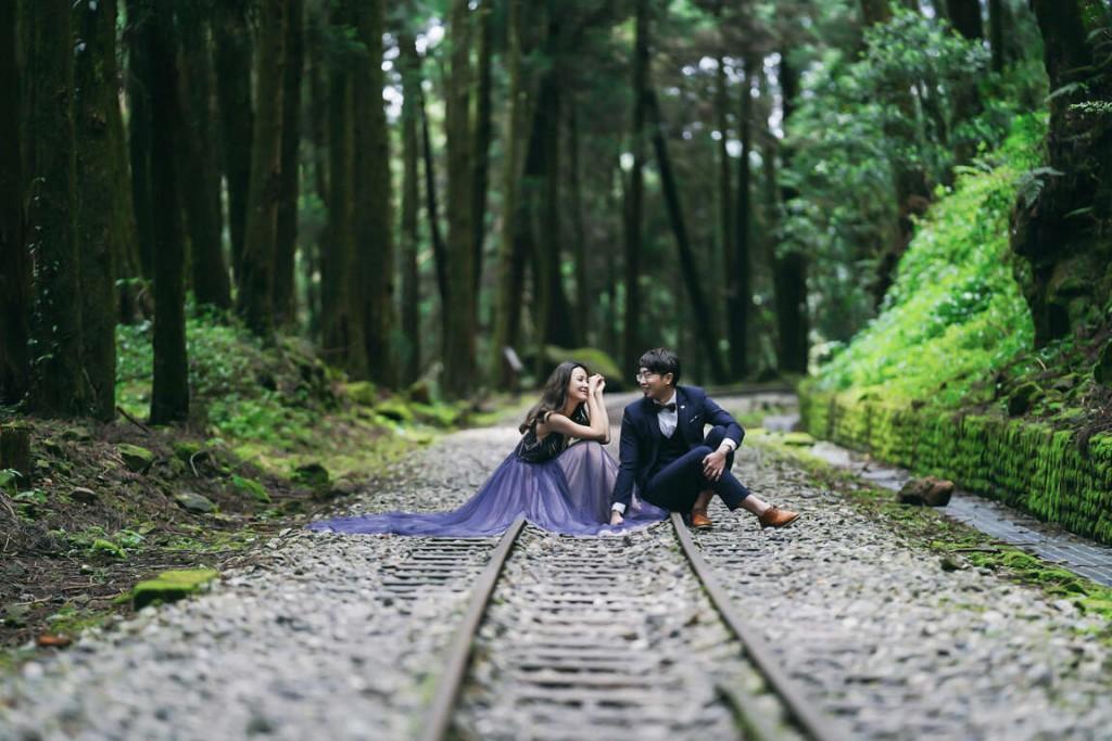 【緣來就是你】台灣阿里山管理處進軍婚慶市場 新人婚禮神木作見證