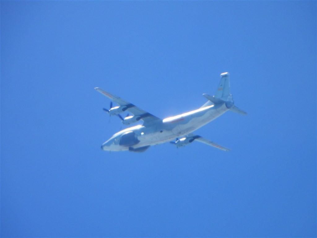 Chinese Y-8 plane (MND photo)