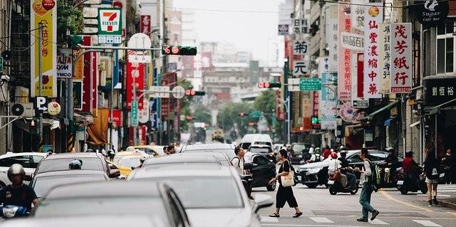 台北市街頭(Pixabay 照片)