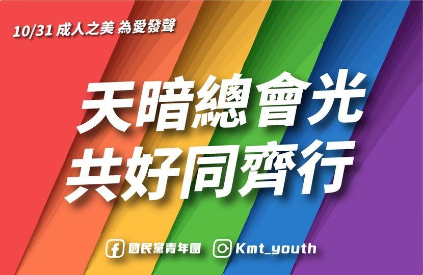 (圖片翻攝自國民黨青年團臉書專頁)