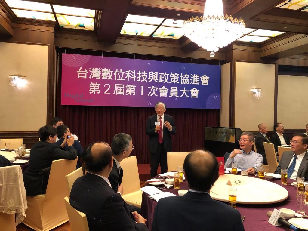 台灣數位科技與政策協進會理事長選舉 高志明連任「續向蔡英文建言」