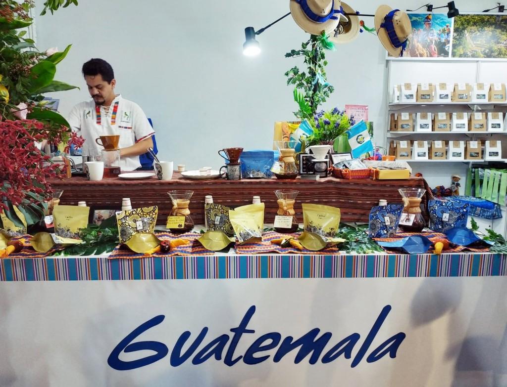 「瓜地馬拉藝文情‧咖啡香特展」已於台北登場(圖/台灣英文新聞)