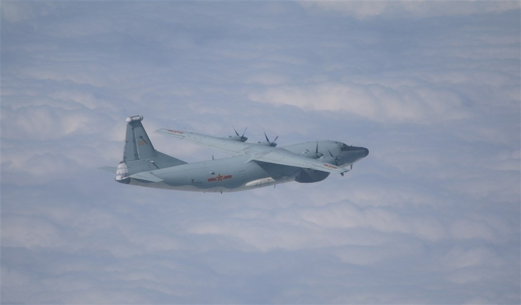 A Y-8 warplane