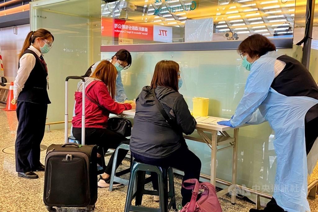 台灣增3例武漢肺炎境外移入 患者自印尼和美國入境