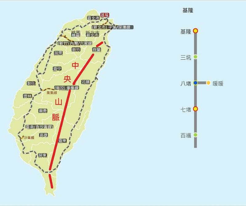 台灣普悠瑪列車首次穿越中央山脈 南迴鐵路電氣化•最後一哩路測試成功!