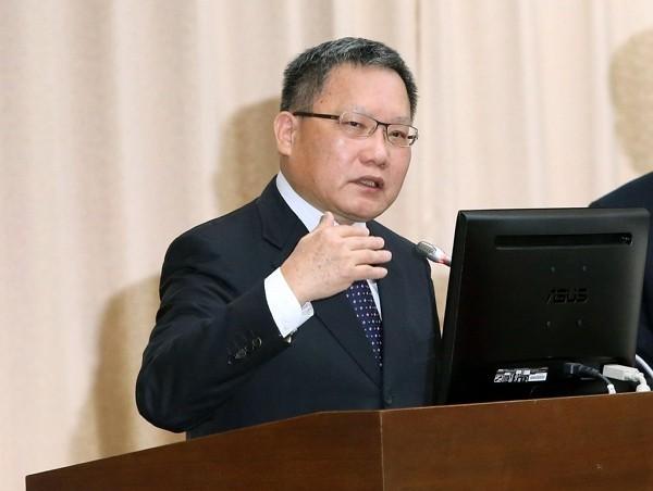 Taiwanese Finance Minister Su Jain-rong.
