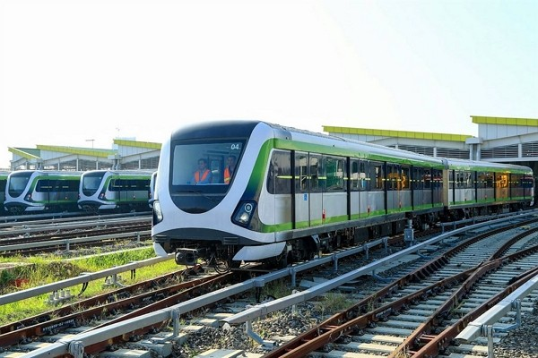 TMRT's Green Line to begin trial operation on Nov. 16. (Taichung City Government photo)