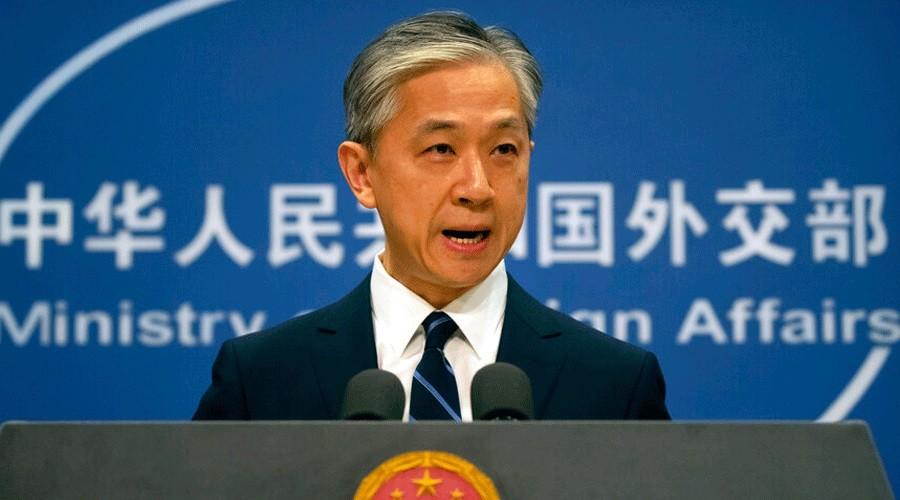 Wang Wenbin.