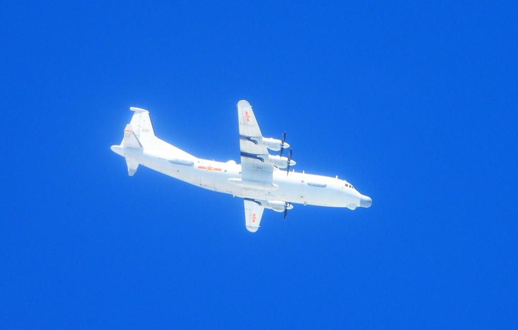 Chinese Y-8 plane on Nov. 11 (MND photo)