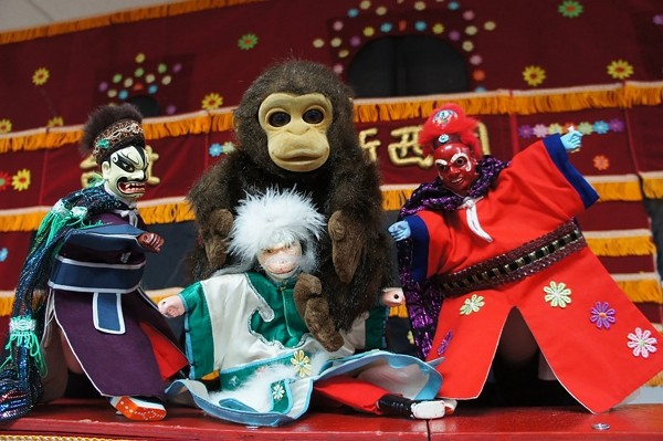 Puppet theatre performances will be offered atXinzhuang Puppetry Culture Day celebration Nov. 22. (New Taipei Cultural Affairs Department photo)...