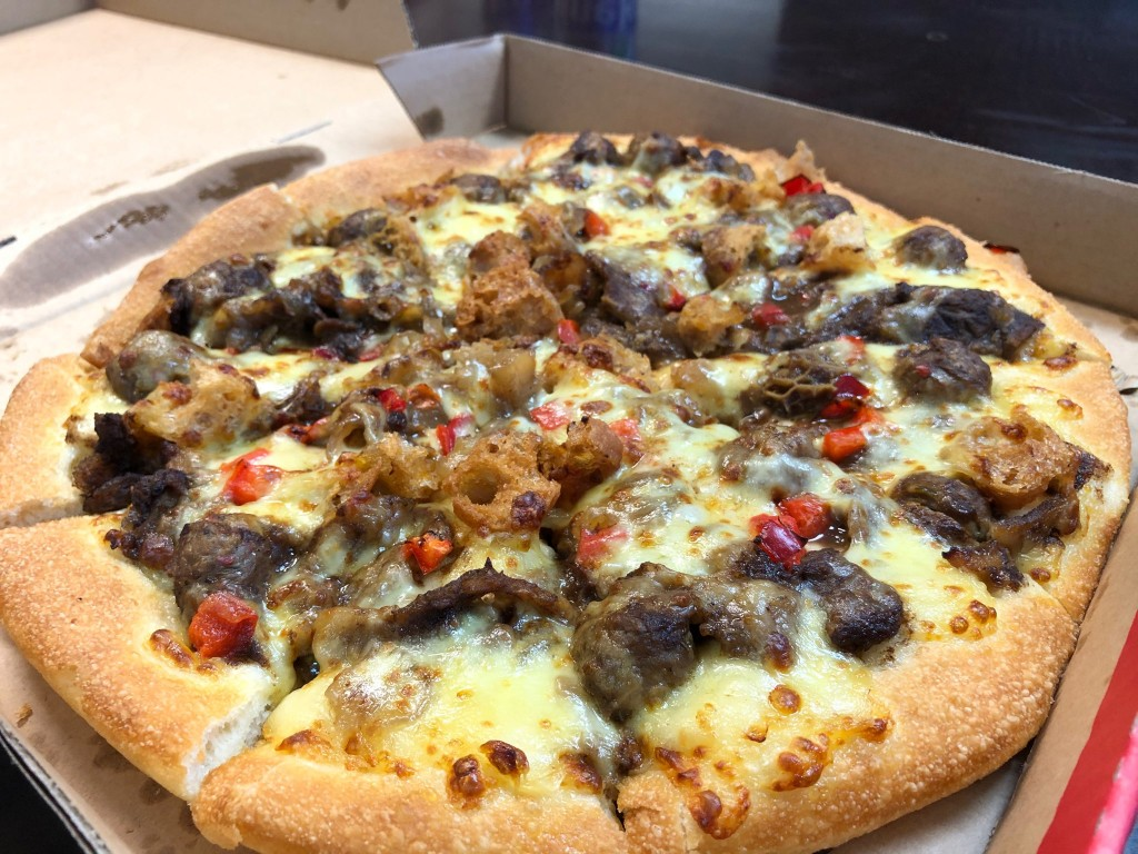 Taiwan Pizza Hut offering spicy hot pot pizza
