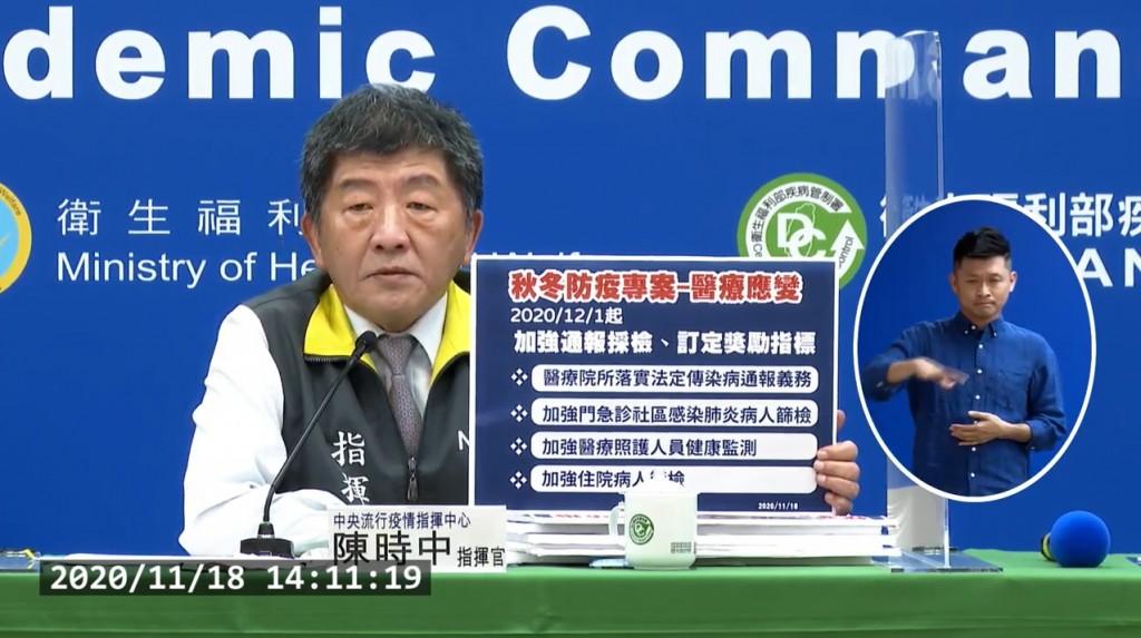 【最新】台灣12/1起實施「秋冬專案」•戴口罩掌握2訣竅 符合3情況•可免出示武漢肺炎核酸檢驗報告