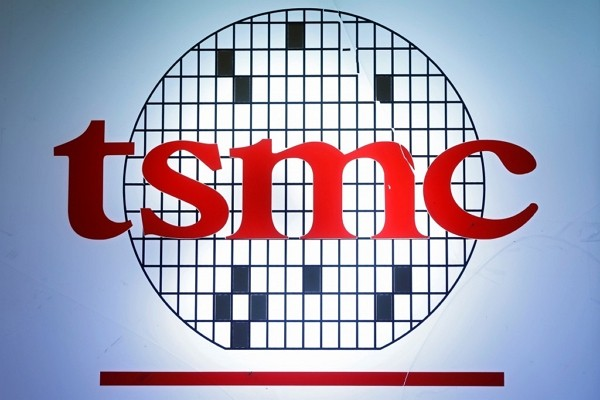 Taiwan Semiconductor Manufacturing Company logo.