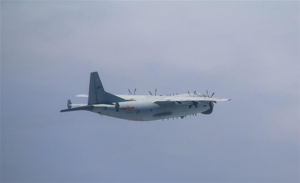 Chinese Y-8 ASW on Nov. 18 (MND photo)