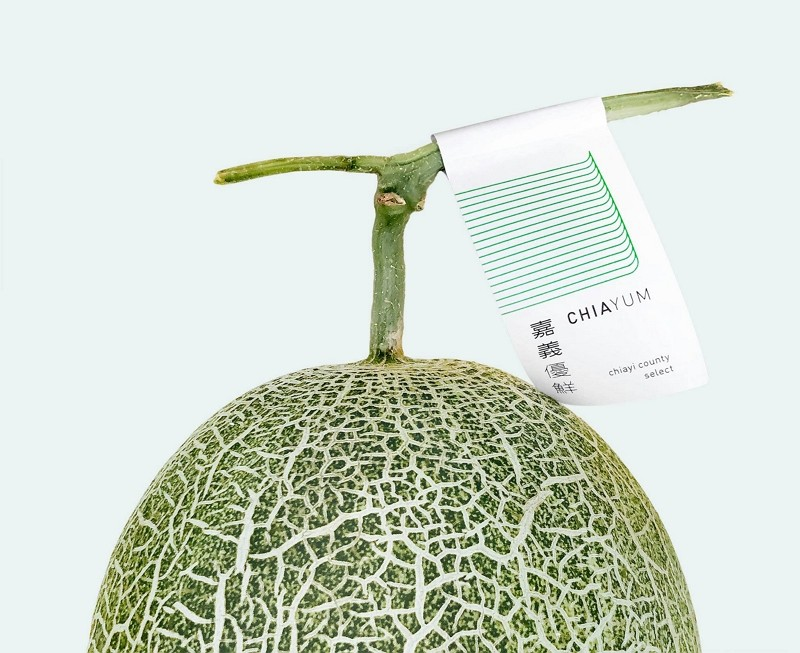 Chiayi unveils refreshing logo for agricultural produce.(Facebook, Aaron Nieh image)
