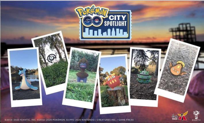 Pokémon GO City Spotlight will take placeon Nov. 22 in Tainan. (Tainan City Government photo)