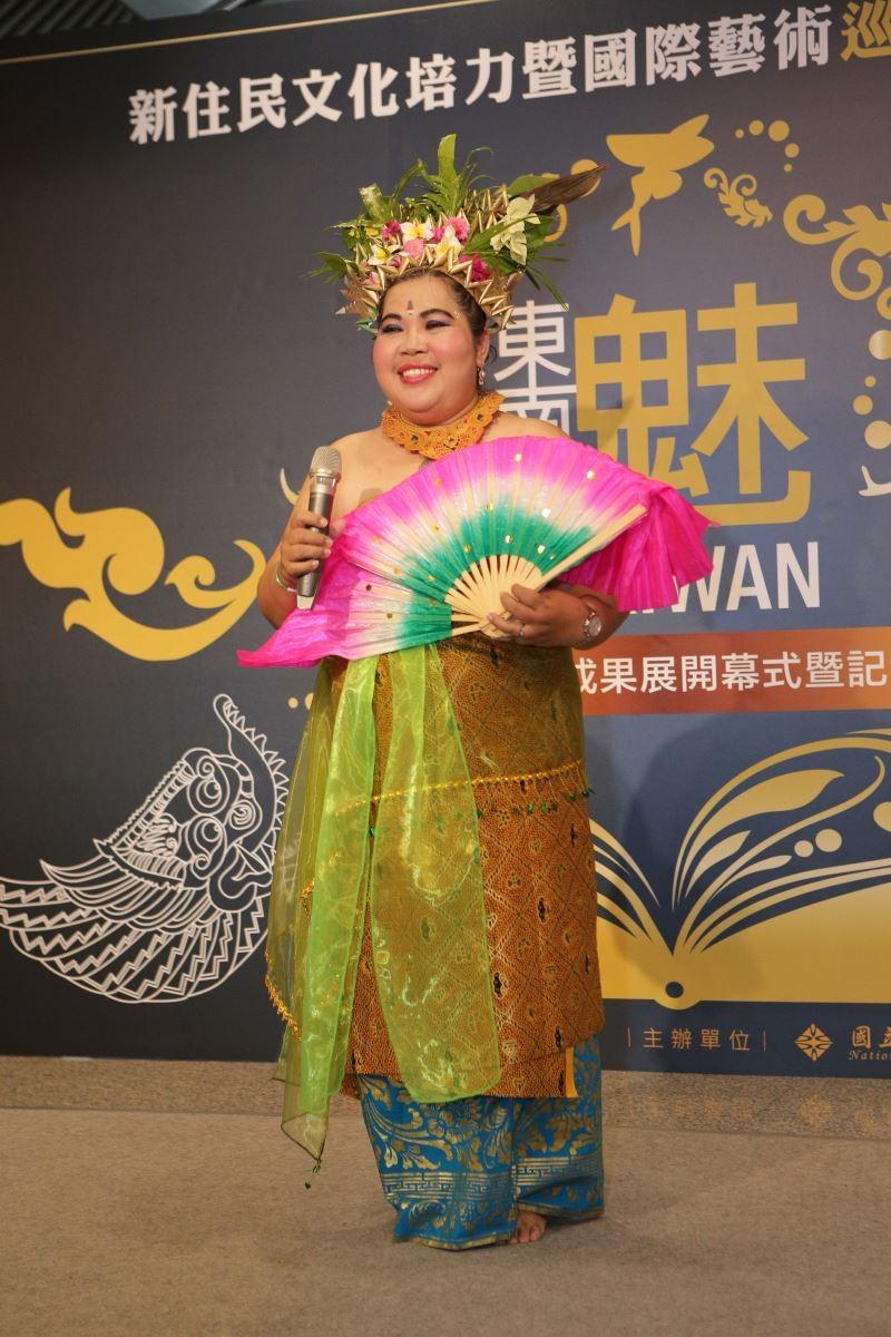 印尼舞劇「阿周那」打頭陣! 在台灣新住民與新二代演繹東南亞魅力