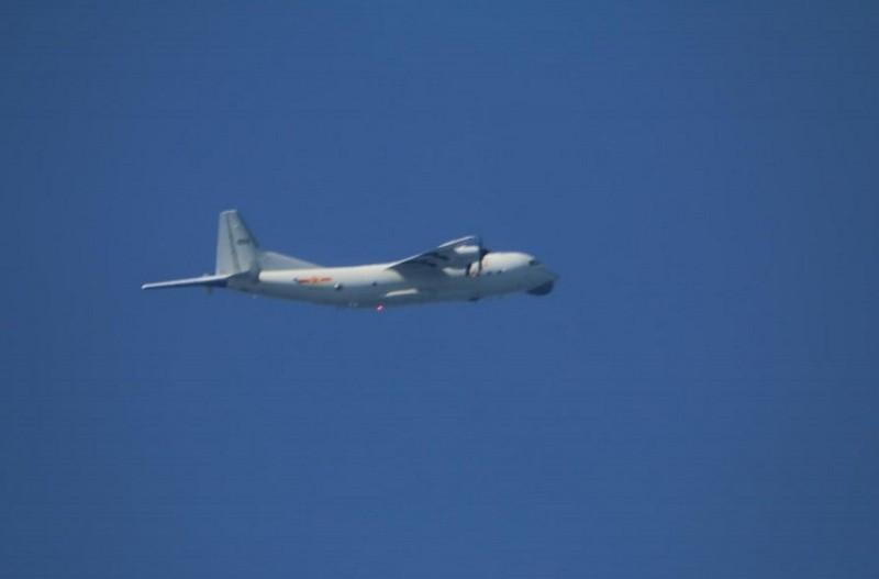 圖為運8反潛機同型機(圖取自國防部網頁)