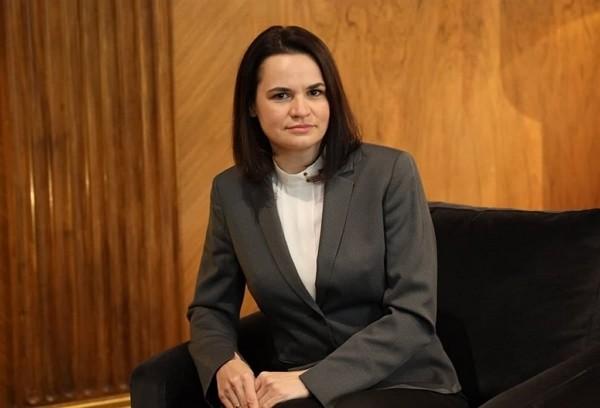 白俄羅斯反對派領袖季哈諾夫斯卡婭說,推翻獨裁政權後,白俄羅斯可望與台灣有更多合作,在資通訊產業尤其值得期待。(圖取自facebook.co...