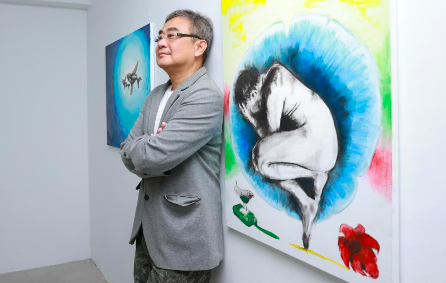 台灣創作才子陳昇首次跨界畫展「末日」為題 自豪「最值得注目的藝術新銳」