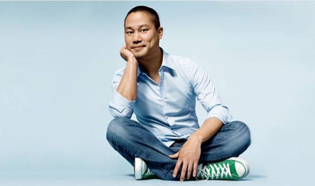 Former Zappos CEO Tony Hsieh (Twitter, Zappos photo)