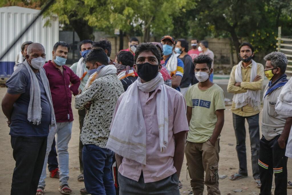 中國最新「新型冠狀病毒」起源甩鍋對象:印度(圖/ 美聯社)