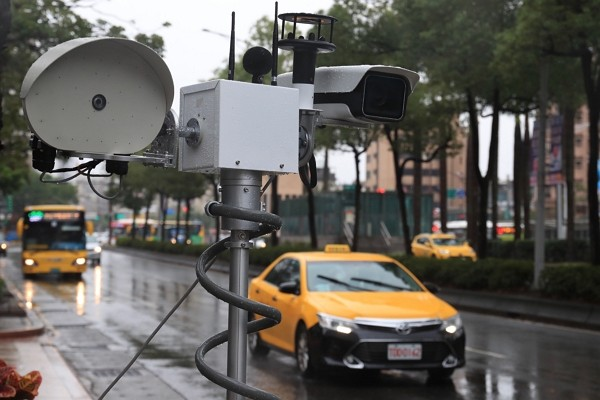 Noise camerainstalled to catch excessively loud vehicles.