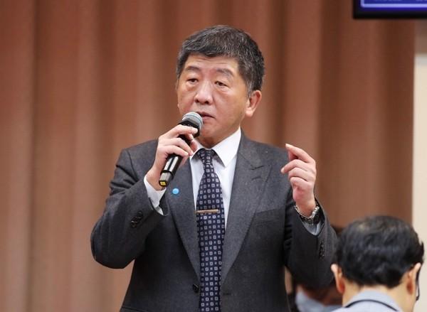 Taiwan Health Minister Chen Shih-chung.