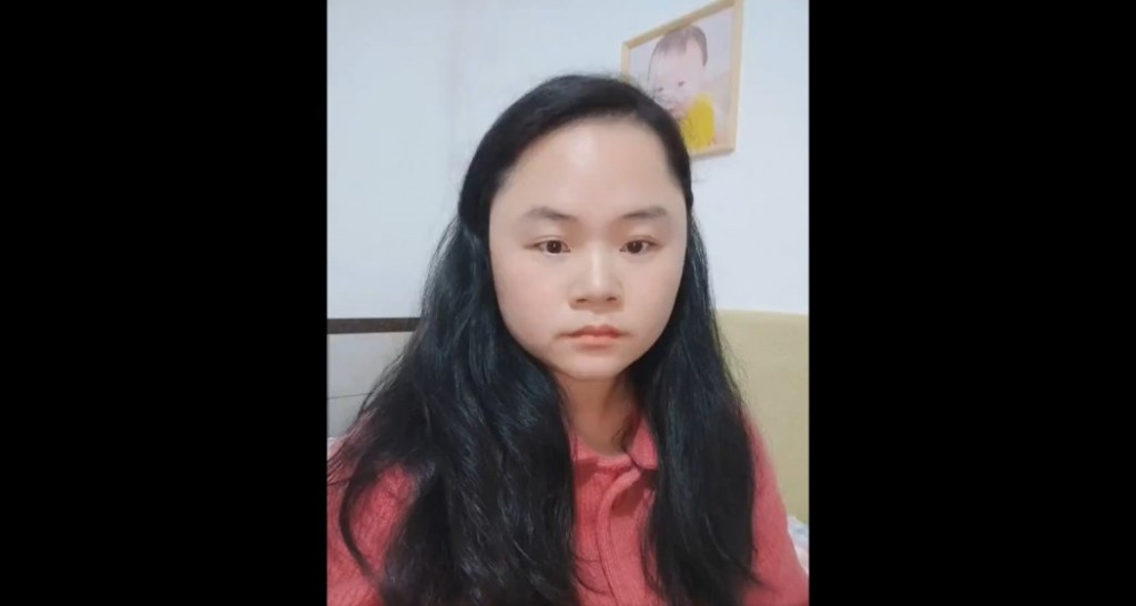 Dong Yaoqiong. (Twitter, CHRD screenshot)